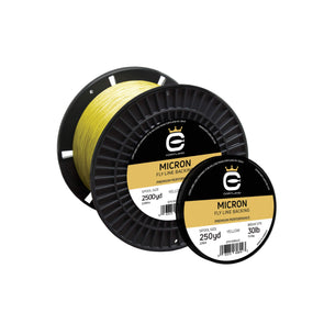 MICRON FLY LINE BACKING - YELLOW