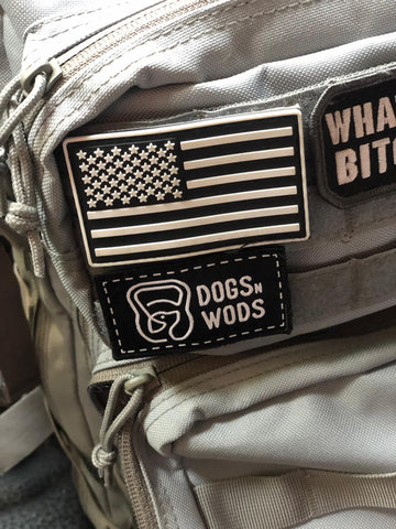 Dogs n Wods - Velcro Patch - 7cm