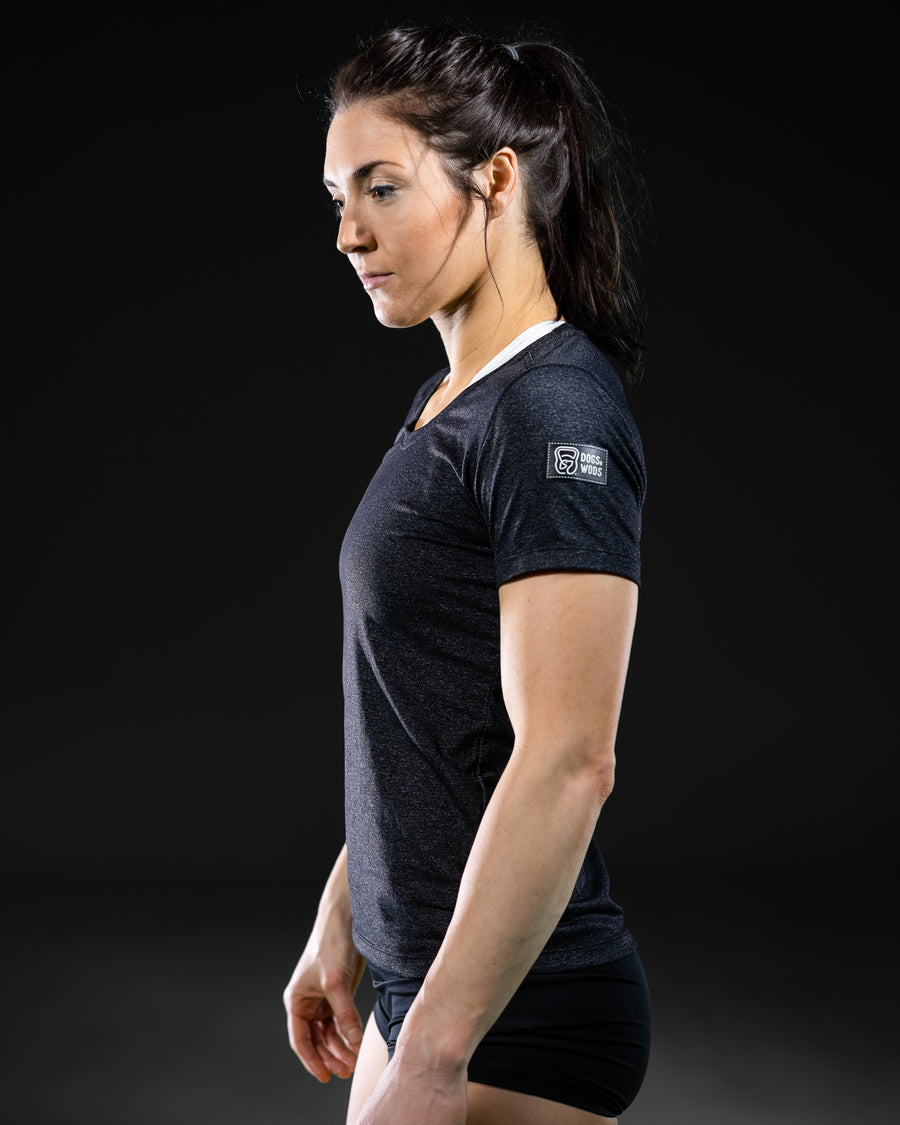 Womens Quick Dry Athletic T-shirt