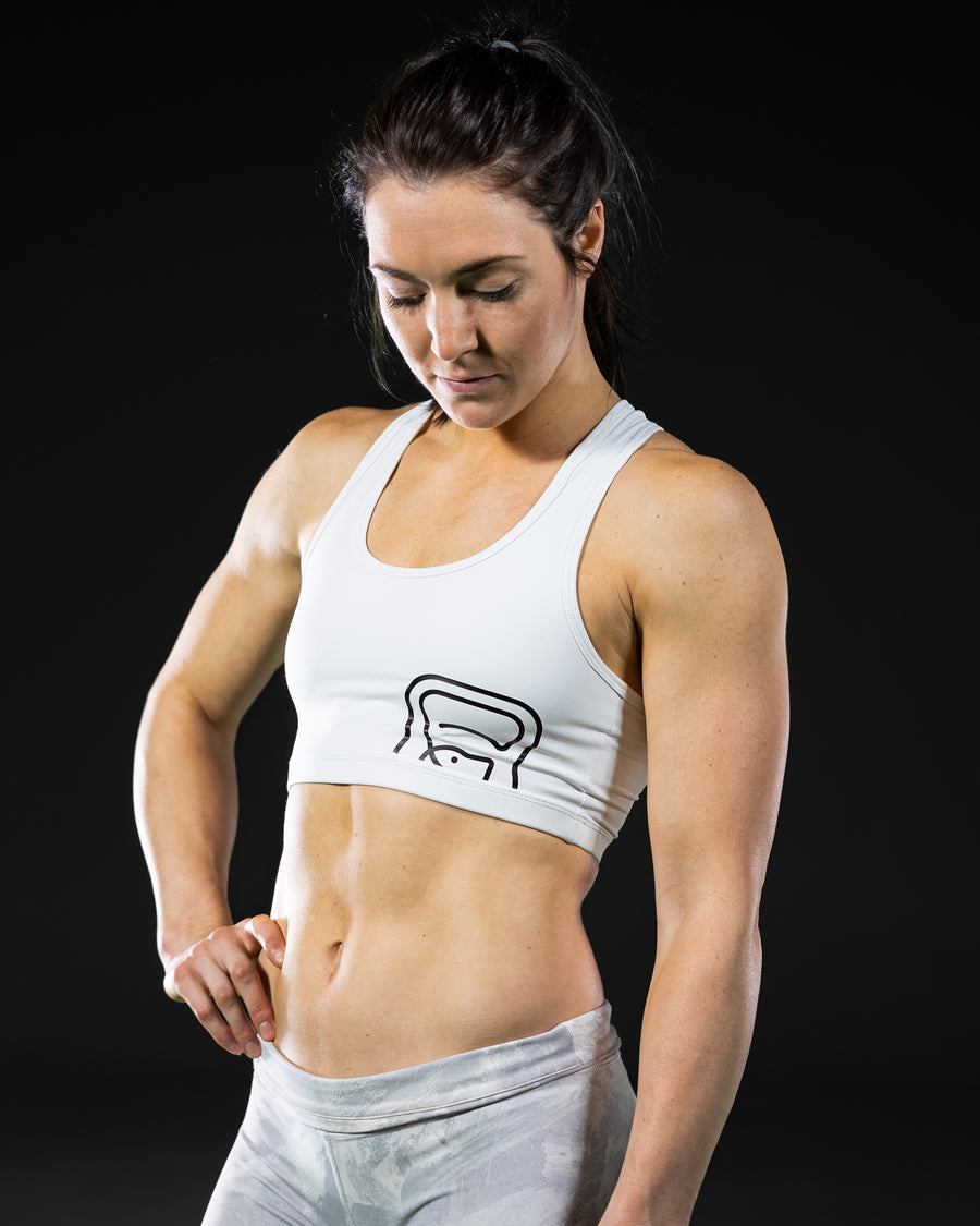 Womens White Sports Top