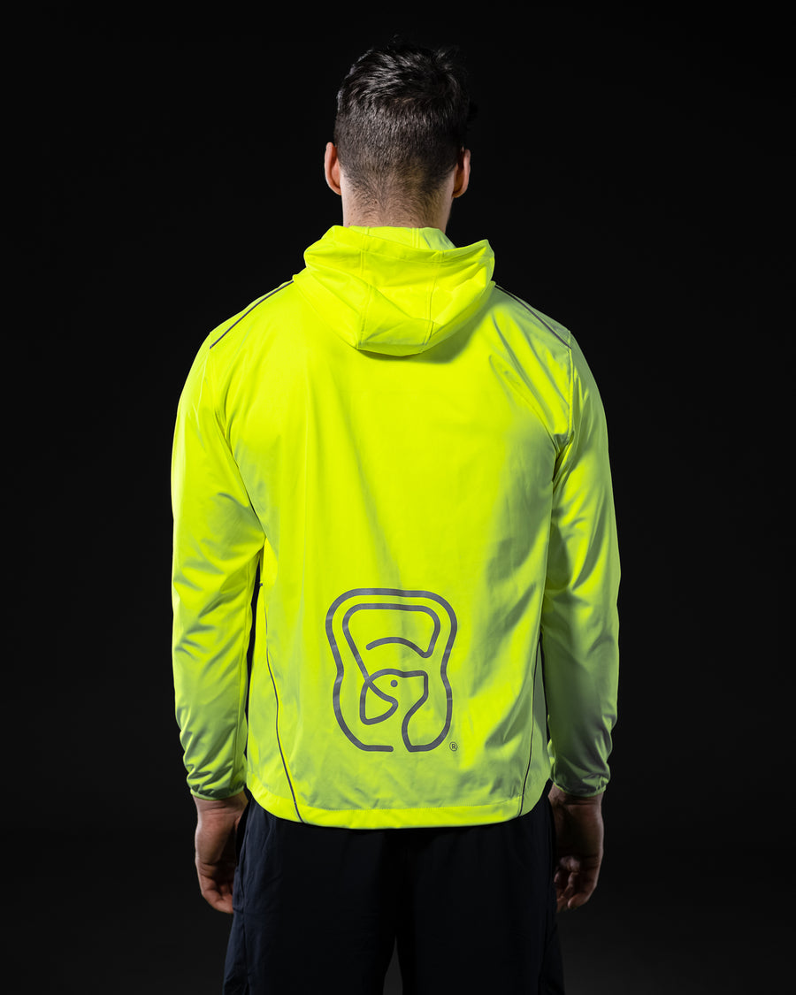 Mens 'Dogs n Wods' High Vis Layer