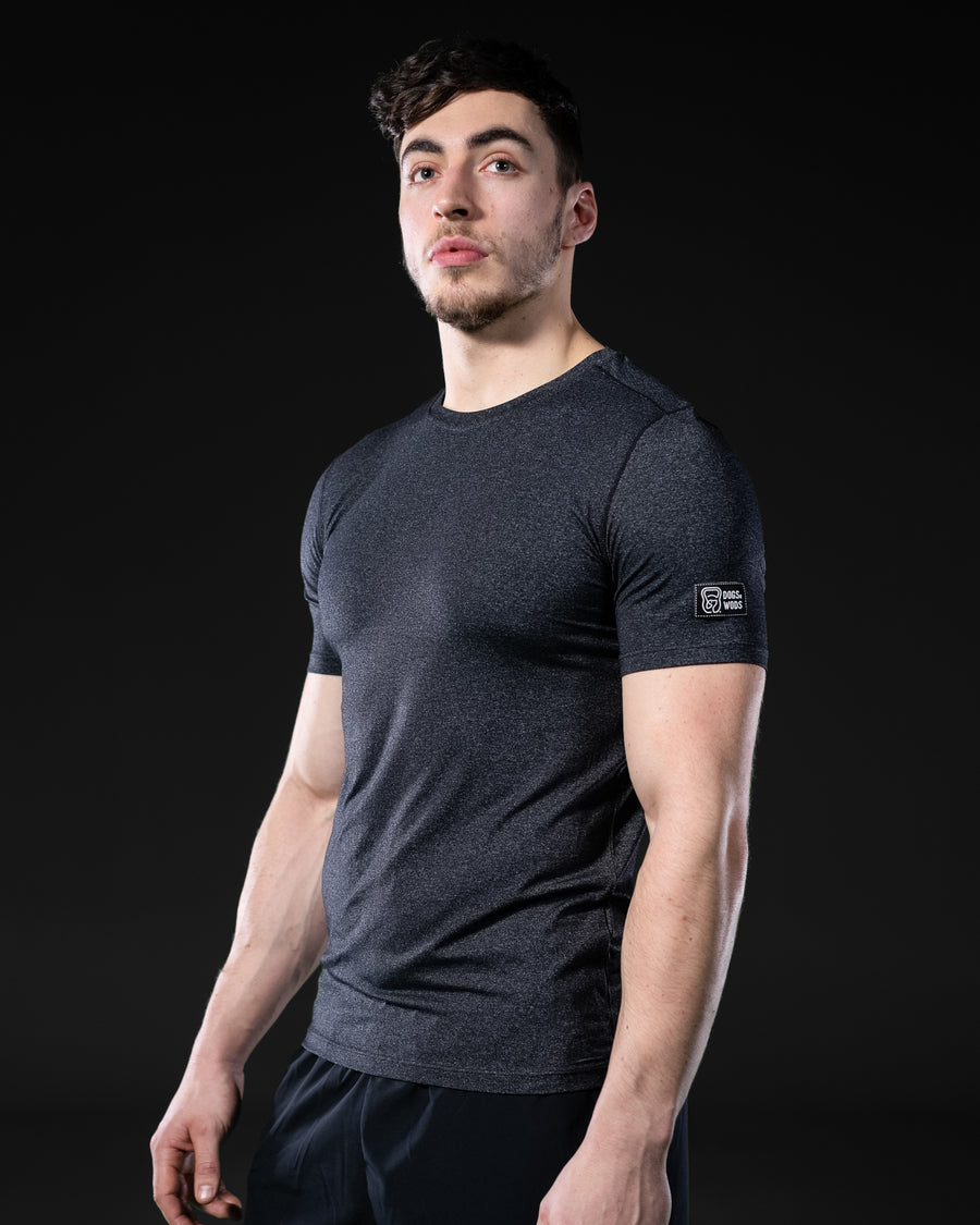 Mens Quick Dry Athletic T-shirt