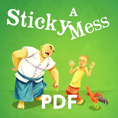 A Sticky Mess (PDF Book)