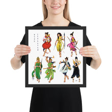 Load image into Gallery viewer, Nang Sangkhan Princesses Framed Poster