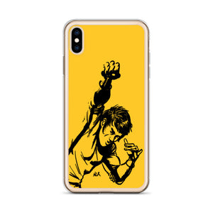 Bruce Lee Punch Fan Art iPhone Case