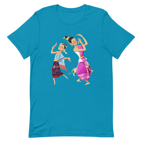 Lao Traditional Dancers T-Shirt