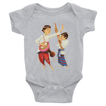 Load image into Gallery viewer, Infant Bodysuit of Lao Musicians