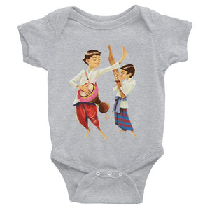 Lao Musicians Bodysuit for Babies