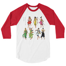 Load image into Gallery viewer, Nang Sangkhan Princesses Baseball T-Shirt