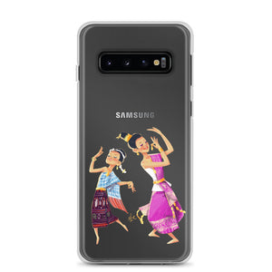 Lao Traditional Dancers Samsung Phone Case