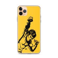 Load image into Gallery viewer, Bruce Lee Punch Fan Art iPhone Case