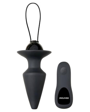 Evolved Plug & Play Vibrating Anal Plug