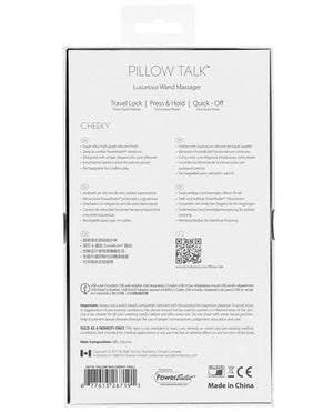 Pillow Talk Cheeky Wand