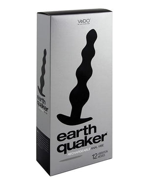 Vedo Earth Quaker Anal Vibe