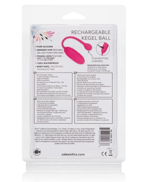 Rechargeable Kegel Ball Advanced - Pink