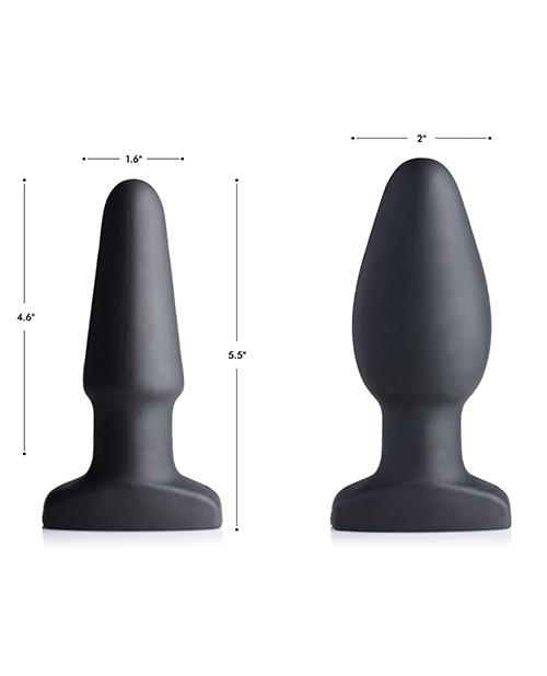 Swell 10x Inflatable & Vibrating Silicone Anal Plug