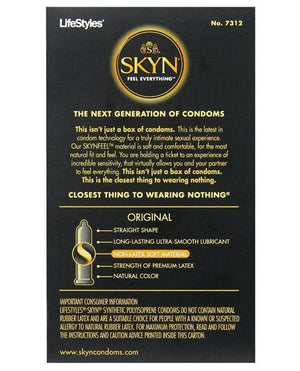 Lifestyles Skyn Non-latex Condoms - Med - 12 Pack