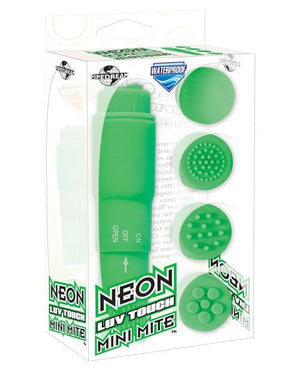 Neon Luv Touch Mini Mite Waterproof - 4 Interchangeable Heads