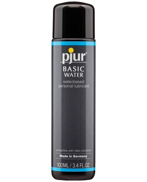 Pjur Premium Water Based Lubricant - 100 Ml Bottle - Silicone Toy Safe