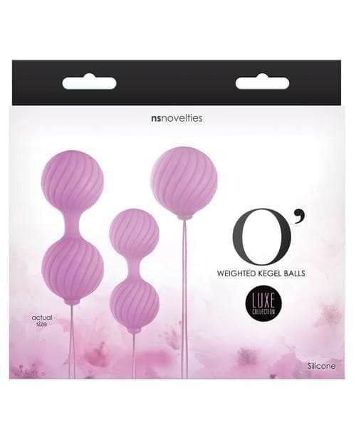 Luxe O Weighted Kegel Balls Set