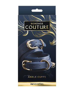 Bondage Couture Ankle Cuff - Blue
