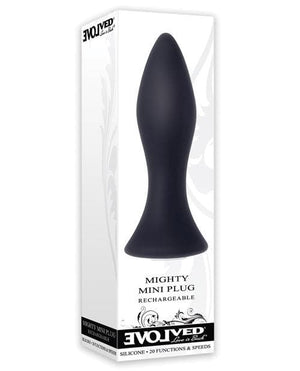 Evolved Mini Butt Plug - Black