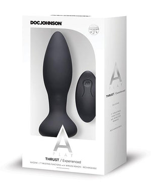 Doc Johnson Premium Silicone Vibrating Anal Plug W/remote