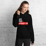 IDA Go Red for Dyslexia Black Unisex Hoodie