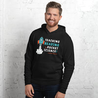 Teaching Reading IS Rocket Science Pullover Hoodie