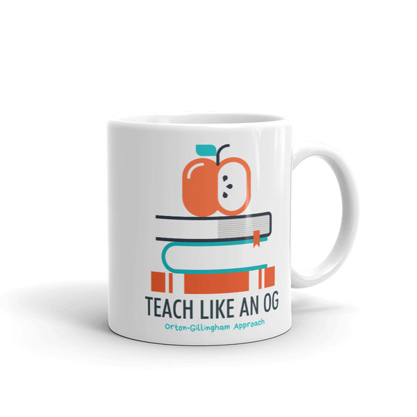 TEACH LIKE AN OG mug