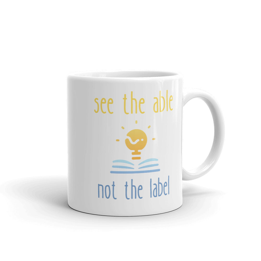 see the able not the label Mug