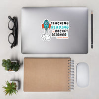 Teaching Reading IS Rocket Science Stickers