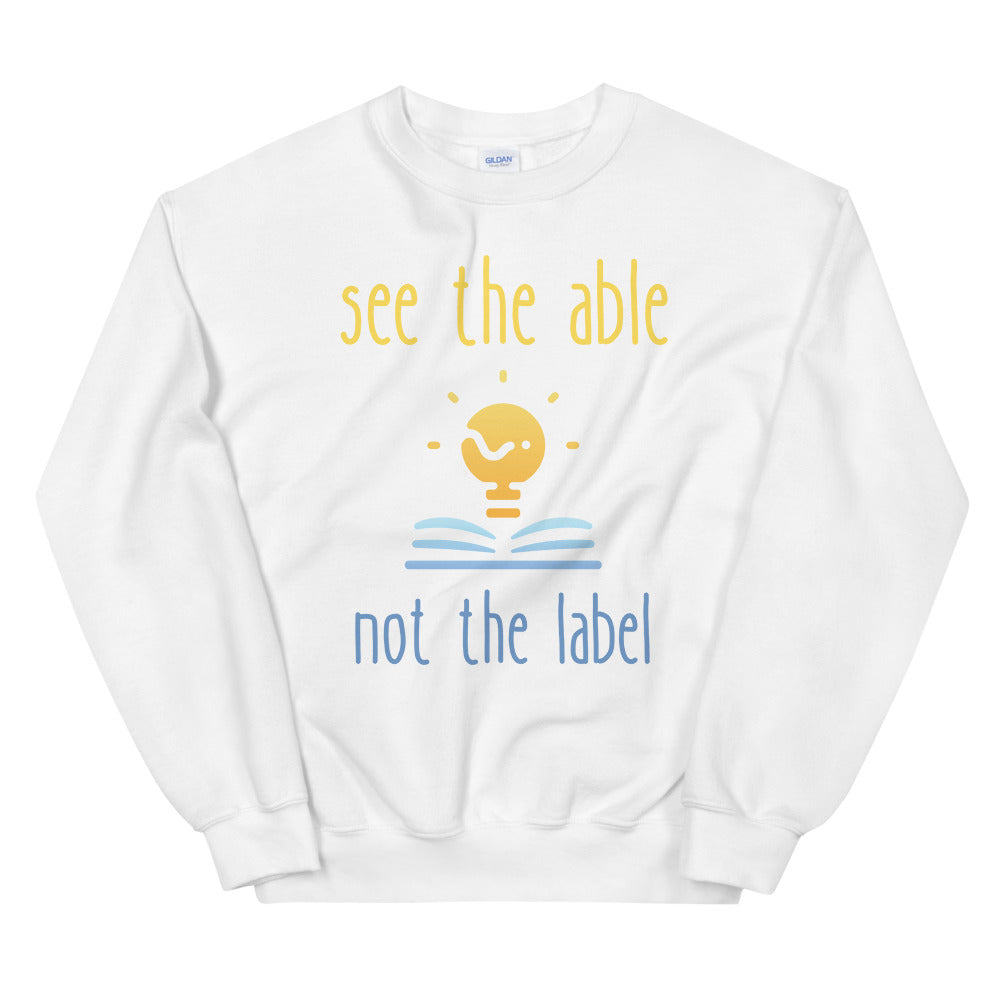 see the able not the label Sweatshirt