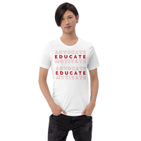 """Advocate Educate Motivate"" Short-Sleeve Unisex T-Shirt"