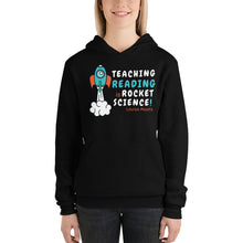 Load image into Gallery viewer, Teaching Reading IS Rocket Science Pullover Hoodie