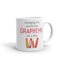 Load image into Gallery viewer, One Grapheme Pink/Orange Mug