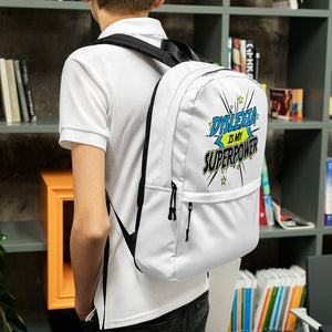 Dyslexia Is My Superpower Backpack