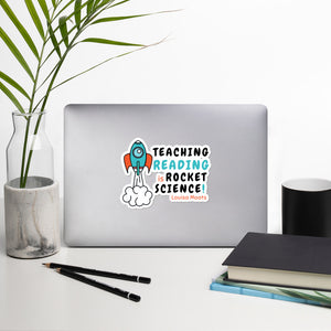 Teach Reading IS Rocket Science Stickers