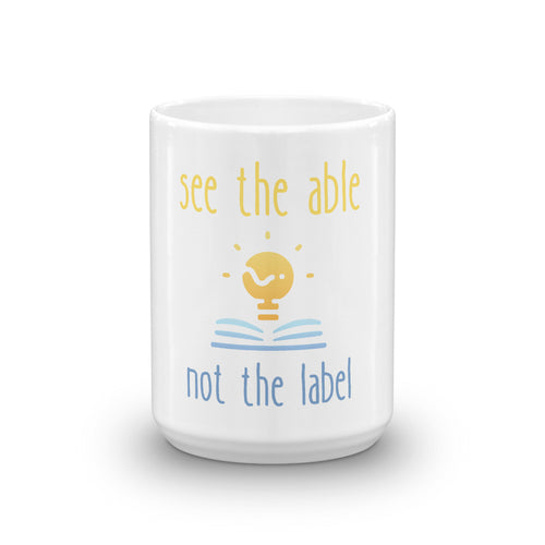 see the able not the label Mug WEBINAR WINNER ONLY
