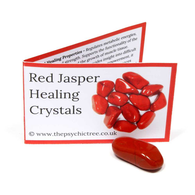 Red Jasper Crystal & Guide Pack