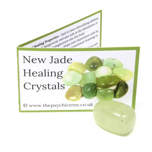 New Jade Crystal & Guide Pack