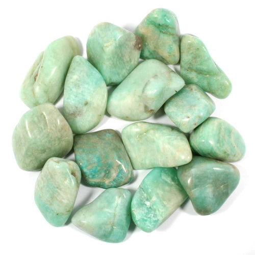 Amazonite Polished Tumblestone Healing Crystals