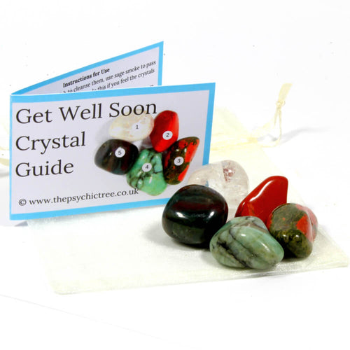 Get Well Soon Healing Crystal Pack