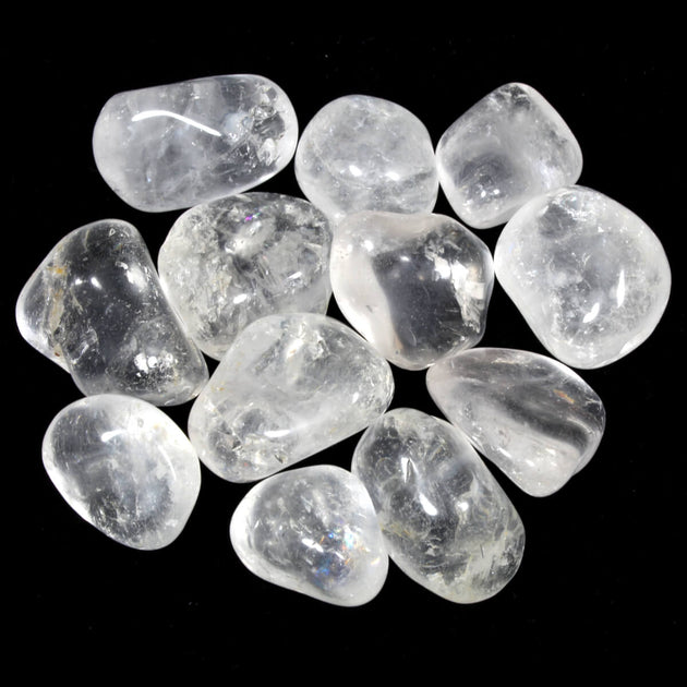 Clear Quartz Polished Tumblestone Healing Crystals