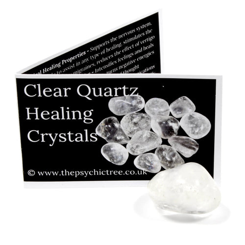 Clear Quartz Crystal & Guide Pack