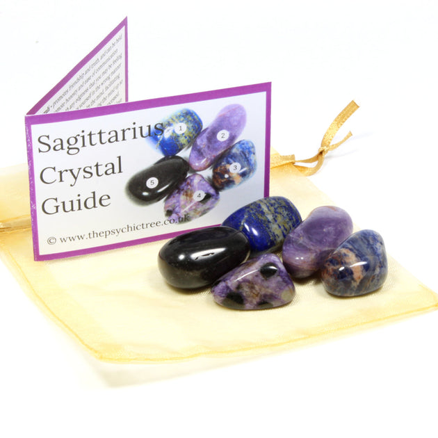 Sagittarius - Sign Of The Zodiac Healing Crystal Pack