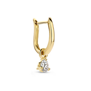 0,20 ct Diamond Fiji Hoop earring