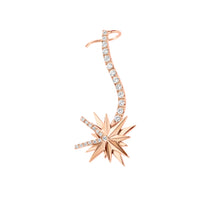 Load image into Gallery viewer, Montana Rosé Gold Earcuff