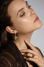 Load image into Gallery viewer, Antwerp Star Rosé Gold Earring