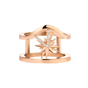 Capri Rosé Gold Ring